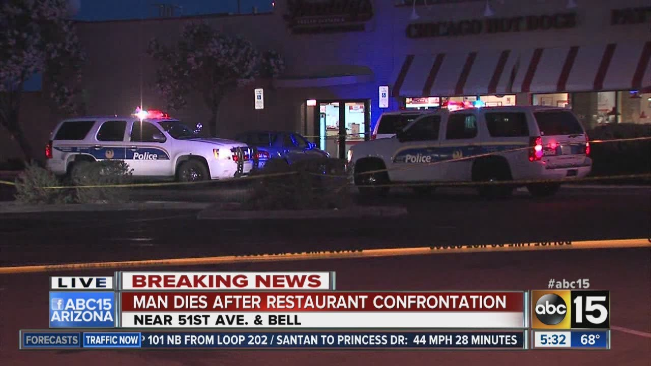 Man dies after Phoenix restaurant confrontation - YouTube