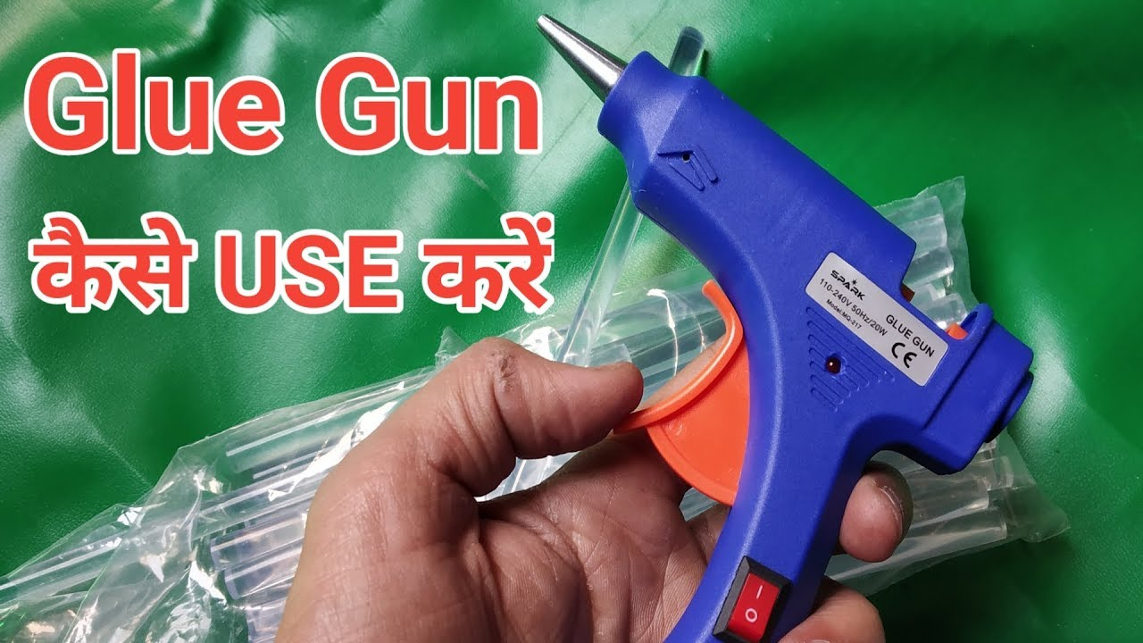How to make something out of hot glue gun at home in hindi