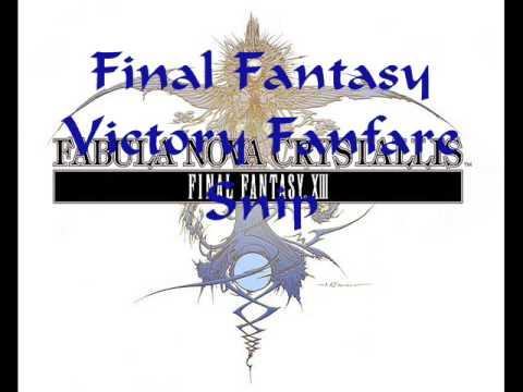 Final Fantasy Victory Fanfare Trumpet Snippet