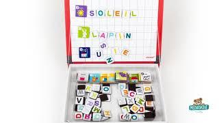 Magnetická kniha Alphabet French Magneti'Book Jano