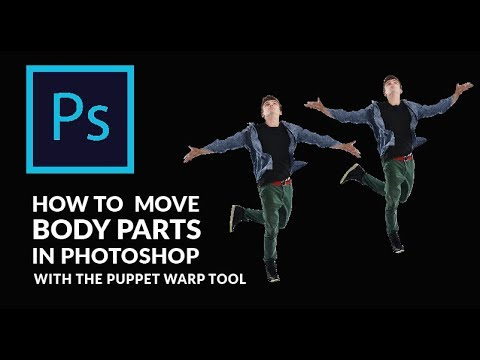 Photoshop Tutorial | How To Move Body Parts With The Puppet Warp Tool