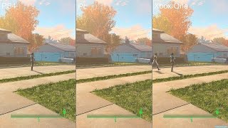 Fallout 4 PS4 Vs Pc Vs Xbox One Graphics Comparison
