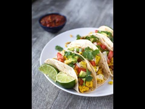 Breakfast Scramble Tacos Southwestern Style