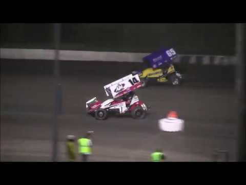 Lasalle Speedway 9 24 17  Sprint Car Action
