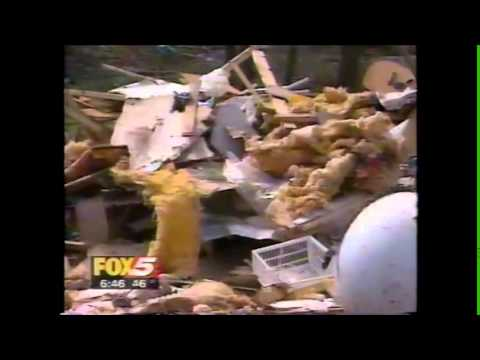 Gainesville, GA Tornado Coverge - Fox 5 - 3/20/1998