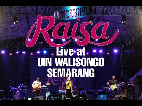 Raisa - YOU Live Pertama Single Terbaru At UIN Walisongo