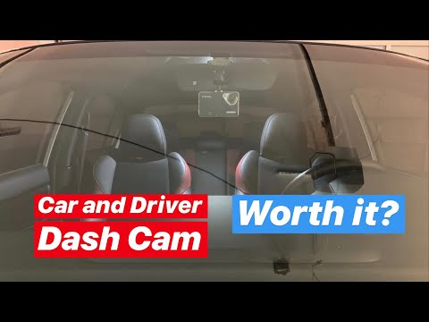 Is The Car And Driver Dash Cam Worth It? (2017 WRX STI)