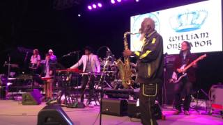 "Pharoah Sanders ""Atomic Bomb! Who is William Onyeabor? Central Park, Oct. 4, 2014"