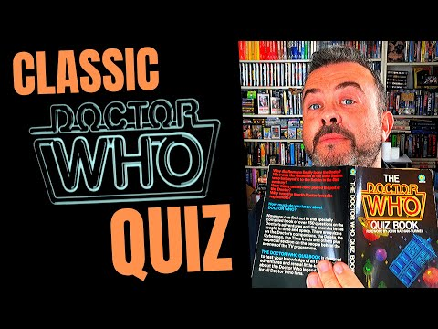Classic DOCTOR WHO Quiz Challenge! Answer Dr Who Trivia Questions From 1981 - And WIN Stuff
