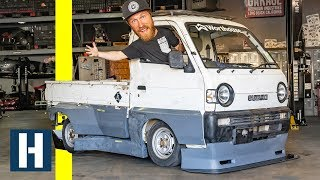 Rocket Bunny Pit Truck!? We Install our One-Off Kit From Tra-Kyoto