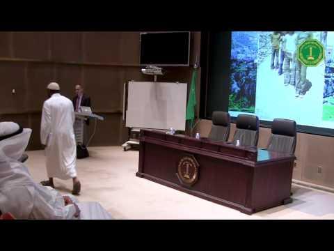 "Dr Omar Yaghi   lecture on ""Establish a Research Enterprise"""