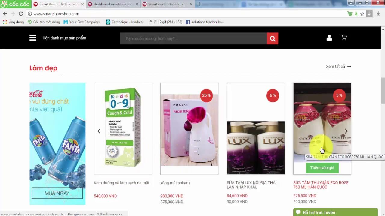 Hướng dẫn cài đặt quảng cáo trên website