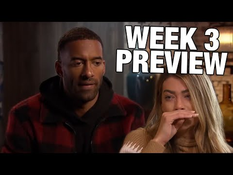 Could Sarah Be Leaving?? - The Bachelor Week 3 Preview Breakdown