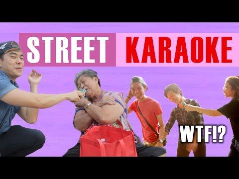 STREET KARAOKE | WTF!? S2 #4 | Happy-TV