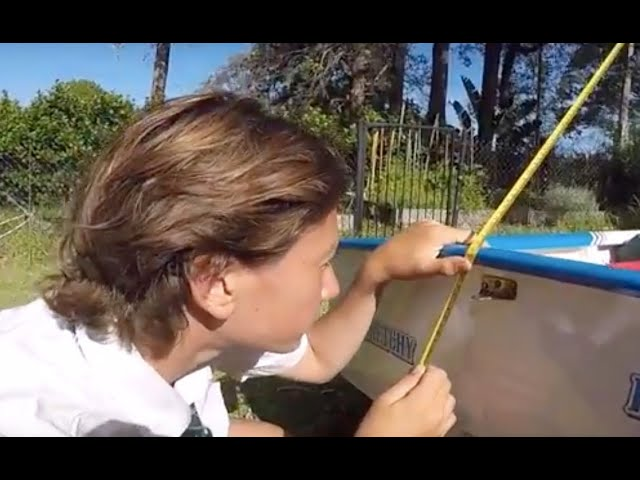 Optimist Rigging - Setting Up Your Mast Rake