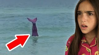 REAL MERMAID CAUGHT ON TAPE!!