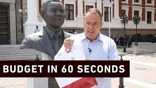 Financial journalist Bruce Whitfield explains Tito Mbowen's 2019 National Budget in sixty seconds.