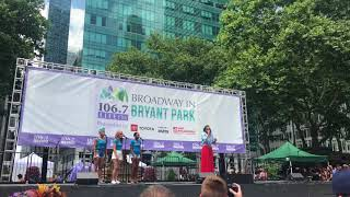 "Katharine McPhee Sings ""What Baking Can Do"" at Broadway in Bryant Park!"