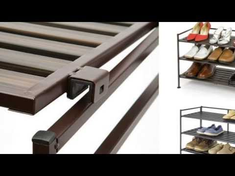 Review - Seville Classics Composite Resin-Wood Utility Shoe Rack