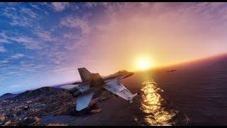 ► GTA 6 Graphics - FIGHTER JET F/A-18C Hornet MOD ✪ REDUX - Ultra Realistic Graphics 60 FPS