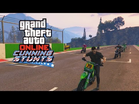 GTA V Online Cunning Stunts [PS4] 24: Síndrome do Dick Vigarista