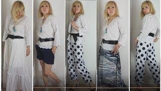 Сшить блузу с цельнокроенным рукавом без выкройки/Стильная блуза в тиле бохо из прошвы