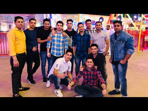 Global village  Some golden memories with my golden friends ( Dubai aale yr )2019😍