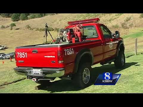 Big Sur community honors their volunteer fire department