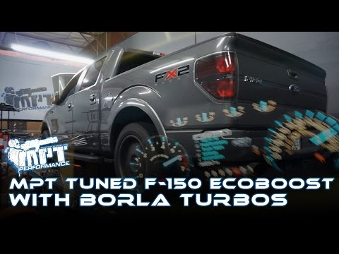 483HP F150 Ecoboost with Upgraded GT Turbos from Borla MPT