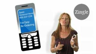 Zingle Text Message Ordering http://www.thezingle.com