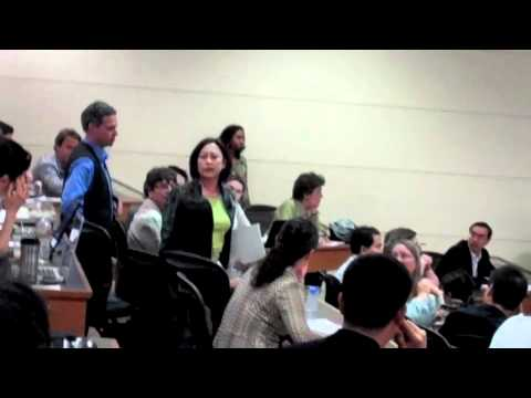 Activists Confront Condoleezza Rice at Stanford University