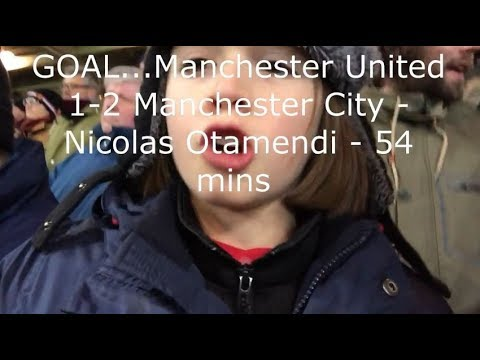 Manchester United v Manchester City | Match Day Vlog | Premier League | 10.12.2017
