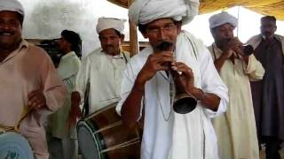 Drum ( Dhol ) Beater Mumtaz & Brothers Mochh Mianwali Punjab Pakistan