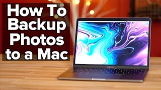 How to backup iPhone Photos to a Mac!