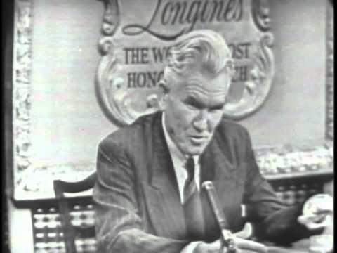 LONGINES-WITTNAUER WITH WALTER C. LOWDERMILK