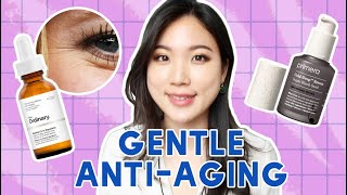 👍Anti-aging skincare products for beginners | Gentle retinols & Antioxidants