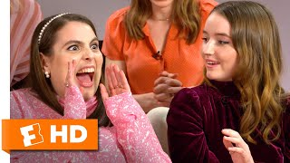 Kaitlyn Dever & Beanie Feldstein on Living Together While Shooting 'Booksmart' | SXSW Interview