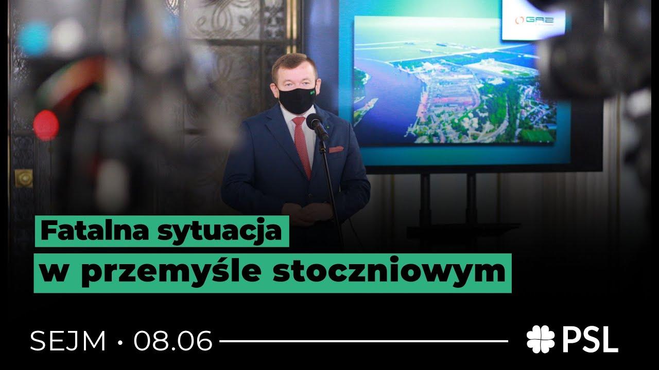 Rzepa: Kolejna odsłona fatalnej sytuacji w polskim przemyśle stoczniowym | Konferencja Prasowa