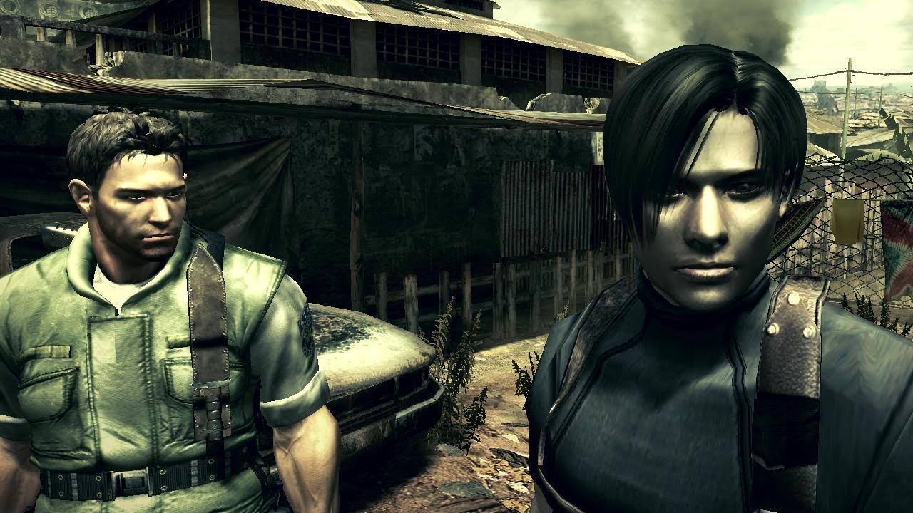 Resident Evil 5 Mod Leon E Chris Hd 100 Youtube
