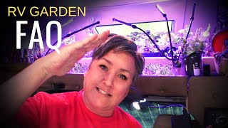 RV - MOBILE -TINY HOUSE -GARDEN FAQ. I'll tell you all the ways I made a garden in my Class C RV...