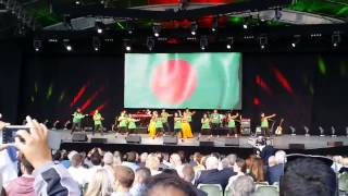 Ritipurna performed in ICC Cricket World Cup