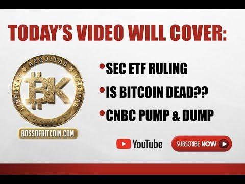 Bearish Bitcoin ETF 😱BTC USD Price 6300 | LIVE Crypto News Today 2018