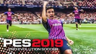 PES 2019 - TESTANDO A DEMO - MELHOR QUE O FIFA ?!