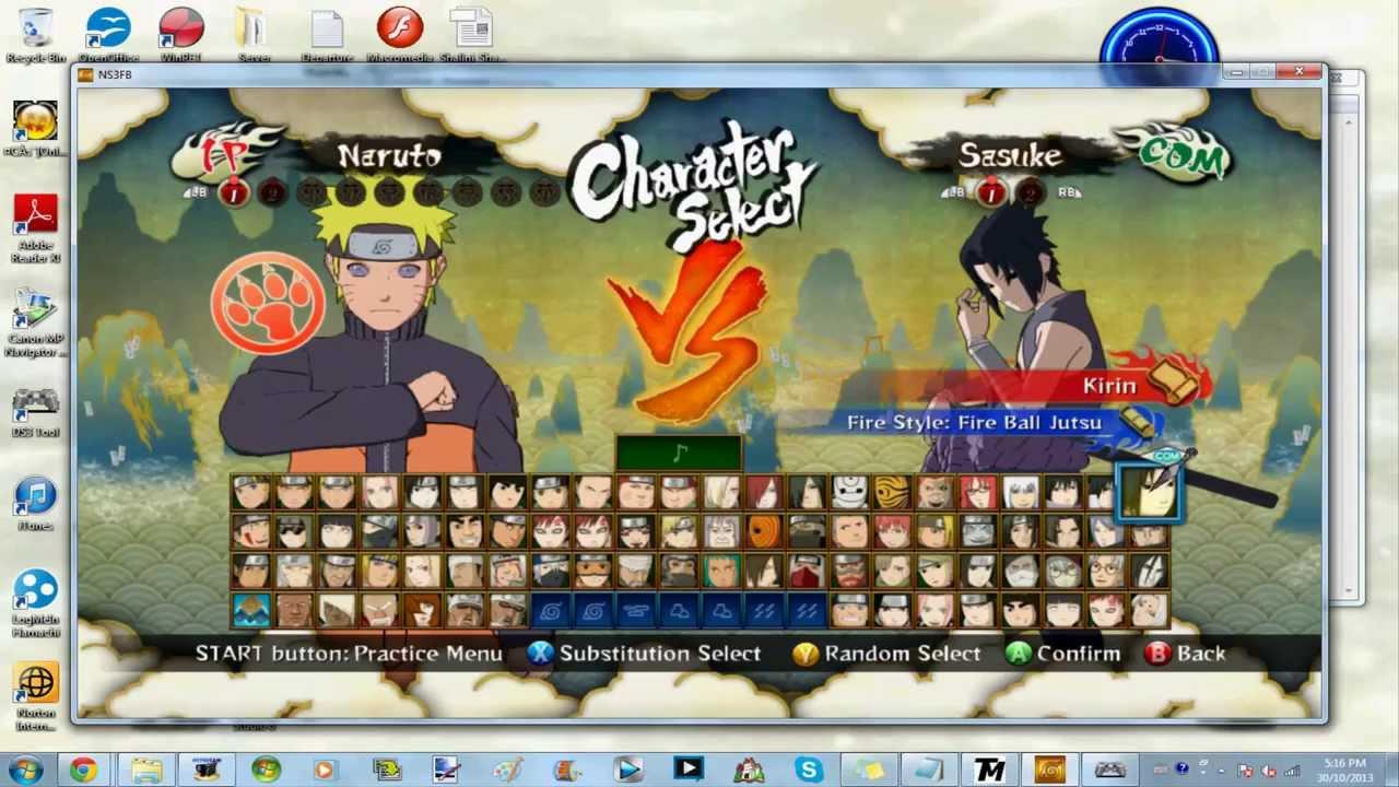 download naruto shippuden ultimate ninja storm 3 full burst pc