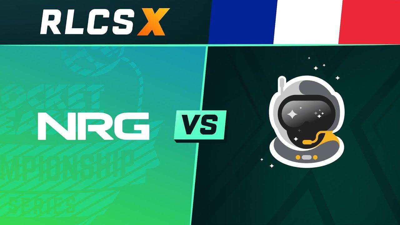 NRG vs Spacestation - 1/2 Finale - NA Regional 2 - RLCS X Spring Split