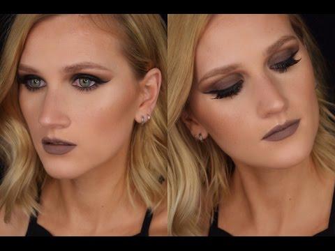 Alles Matt und Braun | Grunge Makeup Tutorial | Lis Amelie