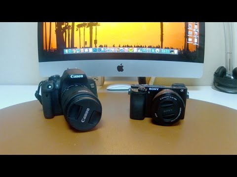 Sony A6000 vs Canon EOS 700D (T5i) | Comparativa