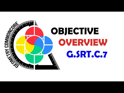 Geometry Common Core Objective Overview G-SRT.C.7