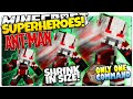 Minecraft | How To Be A Superhero! | ANT MAN! | Only One Command (One Command Creation)