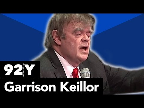 Garrison Keillor's Ode to New York